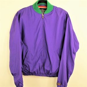 Polo Ralph Lauren Nylon Colorblock Patch Jacket